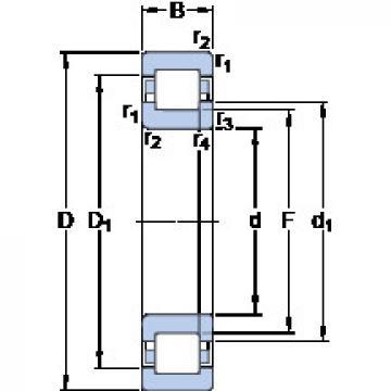 підшипник NUP 230 ECM SKF
